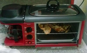 3 in 1 toaster oven coffee grill