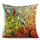 birds- Dorm Decor throw pillows