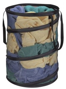 Pop-Up Mesh Laundry Hamper