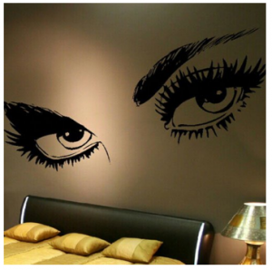 Audrey Hepburn Eyes Wall Decal