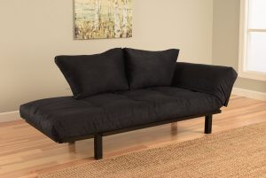 Futon with expandable arms