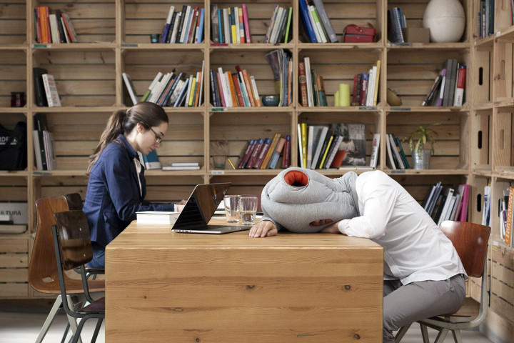 An Ostrich Pillow That Will Make All-Nighters Easier