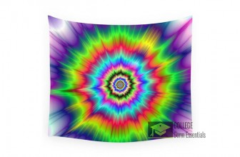 Woah! Psychedelic Tapestry Wall Decor