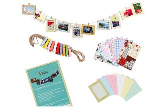 Wall Hanging Photo Frame with Stickers Set