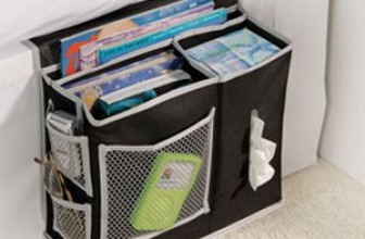 6 Pocket Bedside Caddy Storage