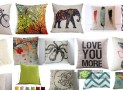 Dorm Decor Variety Throw Pillows Cases