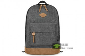 EcoCity Classic College Backpack — Big Enough for All the Books!